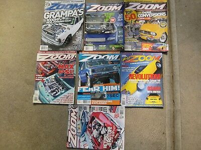 Zoom Magazines X 7 Group Lot