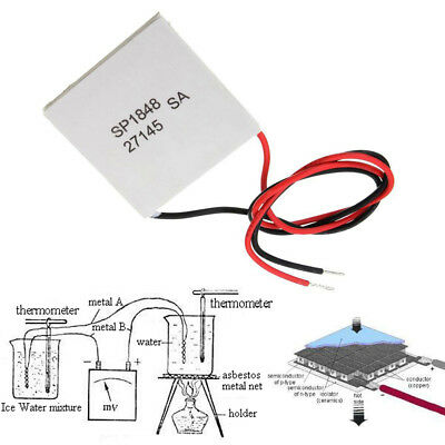 Thermoelectric Generator Power Modul Peltier TEG 150℃ Semiconductor Actives