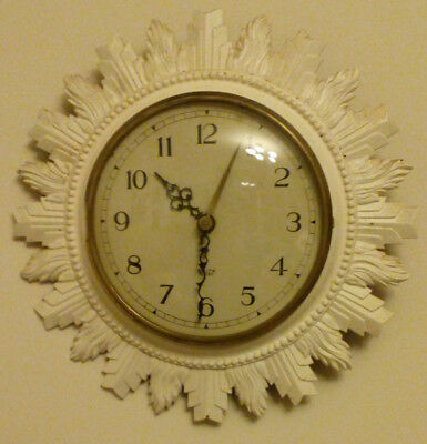 Smiths Sectric Sunburst Electric Clock