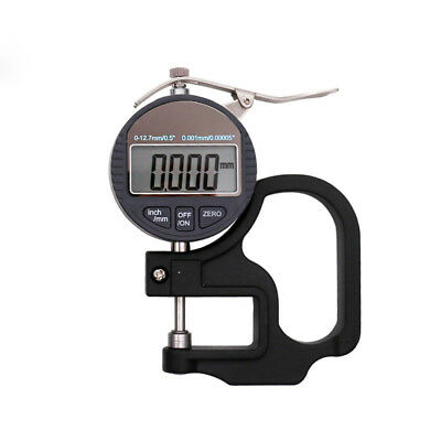 0.001mm Electronic Thickness Gauge 10mm Digital Micrometer Thickness Meter