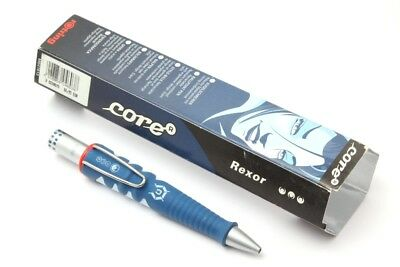 Rotring Core Ball Point Pen Blue Rexor Made in Germany Vintage New Old Stock