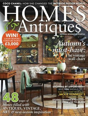 Homes & Antiques Magazine October 10/2017 Autumn's Must-Have Vintage Wall Chart