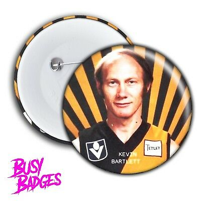 RICHMOND TIGERS - Kevin Bartlett Badges & Magnets - 2017 Premiers Hungry 2018