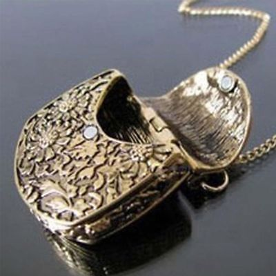 Long Chain Jewelry Pendant Locket Necklace Gift