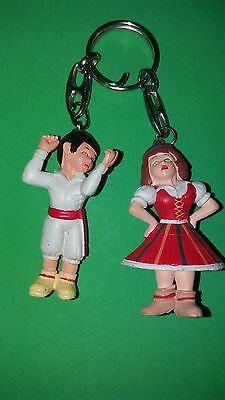 Vintage Madeira Costumes and Typical Dance Collectable Keychain key ring