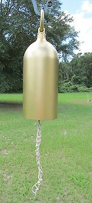 Large Hand Crafted Bell© & Hanger Bracket Repurposed Vintage Fire Extinguisher