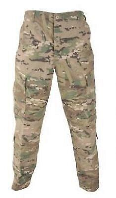 US Army Multicam FR ACU Defender OCP Hose Trousers Tarnhose USA Large Long