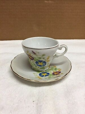 Vintage Small Houbigant Cup And Saucer Set