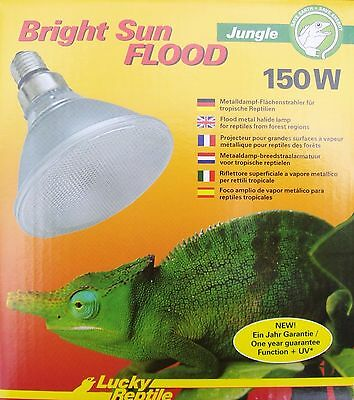 LUCKY REPTILE BRIGHT SUN Jungle Flood 150 W UVB Stahler