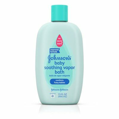 Johnson's Baby Soothing Vapor Bath For Colds, 15 Oz.
