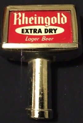 Rheingold Extra Dry Lager Beer Tap Knob Vintage Pull Handle~Car Use~Collectibles