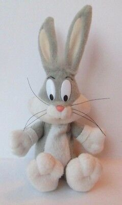 "BUGS BUNNY 7"" KEY CHAIN PURSE CLIP PLUSH DOLL, Looney Tunes, Play By Play"