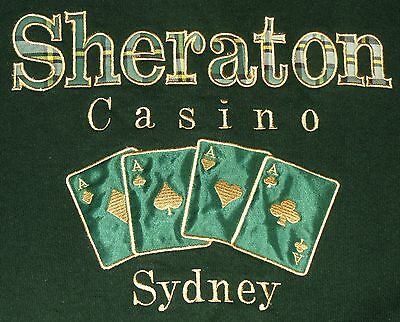 Embroidered Sheraton Casino Sydney Cape Breton Nova Scotia Sweatshirt Men's XL