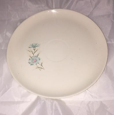 Taylor Smith Taylor Boutonniere Chip Dip Round Plate with Well for Chip Bowl
