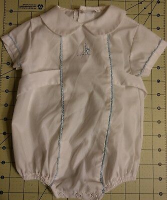VINTAGE BABY Boy ONSIE CLOTHES OUTFIT White Bryan EUC! 1960's-70's