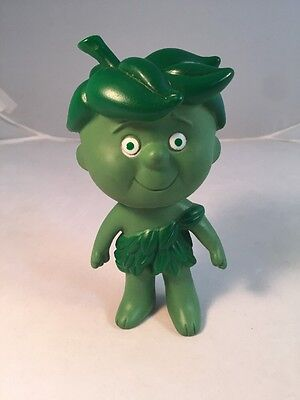 "Vintage LITTLE SPROUT 6"" Vinyl Figurine Jolly Green Giant 1970's Rubber Doll Toy"