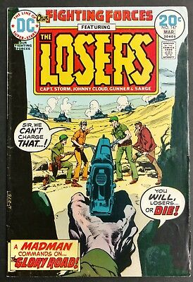 Our Fighting Forces #147 1974 Sharp Fn The Losers ,great Neal Adams  Cover