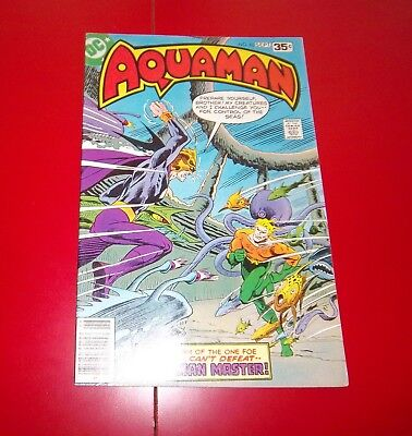 Aquaman #63 My Brother's Keeper Final Issue  Bronze Age - 1978 Great Condirion