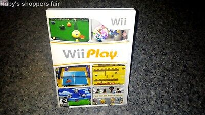 Nintendo Wii Play  Video Game Disc For The Wii Console