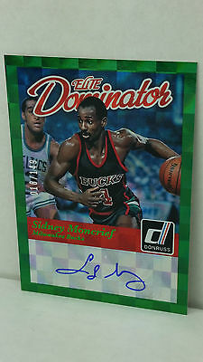 2014-15 Elite Dominators Signatures #37 SIDNEY MONCRIEF /149 ! (Bucks)