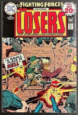 Our Fighting Forces #152 1974 Sharp Fn+ The Losers All Kirby Issue+Cover