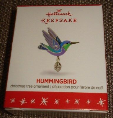 Hallmark 2016 Humming Bird Miniature Ornament