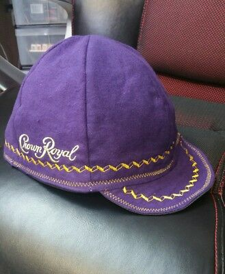 Wendys Welding Welding Hat Made From Crown Royal Bags! FITTED TO YOUR SIZE! !