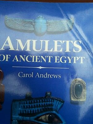 Amulets of Ancient Egypt by Carol Andrews (1994, Paperback)