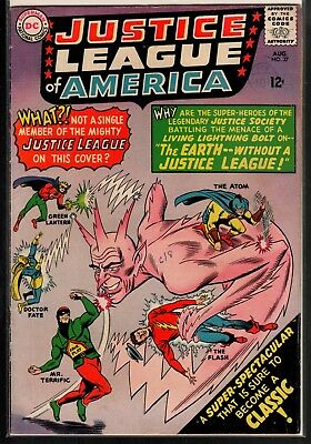 Justice League of America #37 VG- 3.5 DC Silver Age 1965 Justice Society!!!