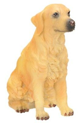 """Golden Retriever Figurine 3.5"""" - New In Box - World Of Dogs   - Free Shipping"""