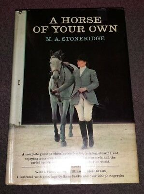 A Horse of Your Own by M. A. Stoneridge (1968, Hardcover, Revised)
