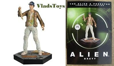Eaglemoss 1/16 Alien & Predator Nostromo Engineer  Samuel Brett Issue 24