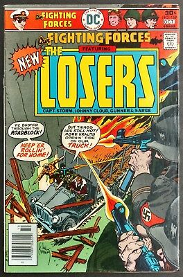 Our Fighting Forces #169 1976 Sharp Fn+ The New Losers Joe Kubert  Cover