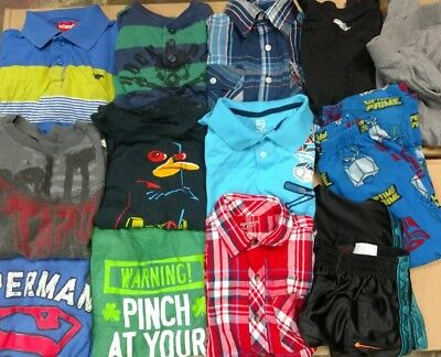 Boys size 7/8, lot of 16 mixed items, pre owned