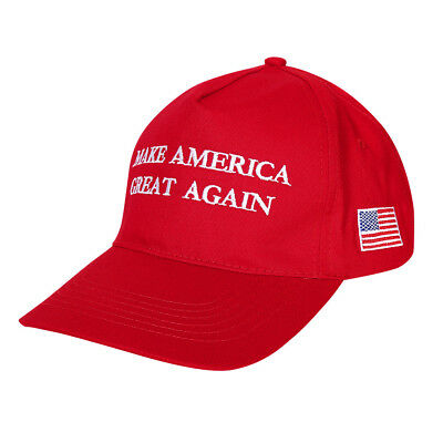 Donald Trump Make America Great Again MAGA Hat Cap US Election 2017 Red