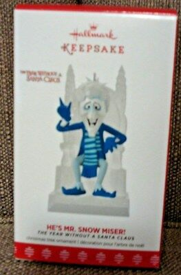 Hallmark 2017 He's Mr. Snow Miser The Year Without Santa Claus