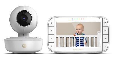 "5"" Portable Video Baby Monitor Rechargeable Camera with Remote Pan Tilt for Home"