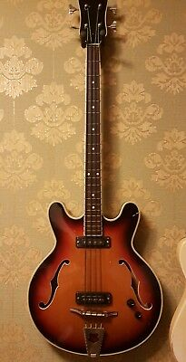Musima Hollowbody Bass 1657B