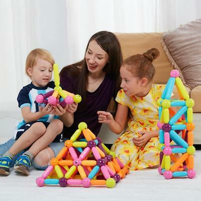 1 Set Magnetic Building Block Toys Blocks Magnets For Babys Child Mixed Colors