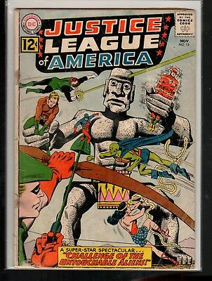 Justice League of America #15 FR/GD 1.5 DC Silver Age 1962 Complete!!!