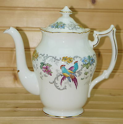 "Coalport Royal Cauldon Marlborough Coffee Pot, 6"" & Matching Lid, 3-Cups"
