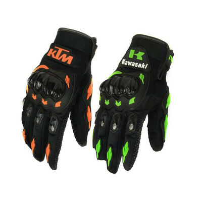 Motorcycle Gloves Cycling Protections Full Fingers  for KTM KAWASAKI M,L,XL,XXL