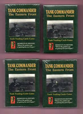 Tank Commander Card-Game -The Eastern Front 4 Pack & NEU
