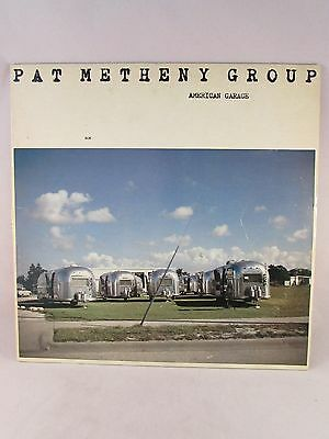 "Pat Metheny Group's 1979  Release ""American Garage,"" LP ECM-1-1155 Masterdisk RL"
