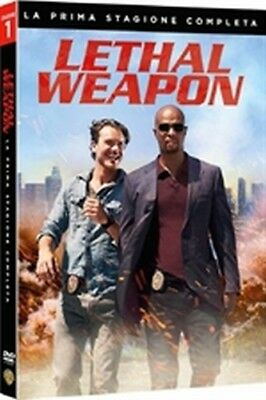 Lethal Weapon - Stagione 1 (4 DVD) - ITALIANO ORIGINALE SIGILLATO -