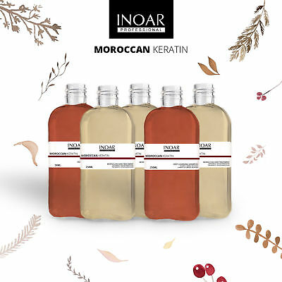 INOAR MOROCCAN BRAZILIAN KERATIN TREATMENT HAIR STRAIGHTENING KIT 50ml  100ml
