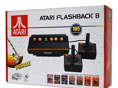 28Atari Flashback 8 Deluxe Console Game Player 105 Classic Games Built-in AR3220