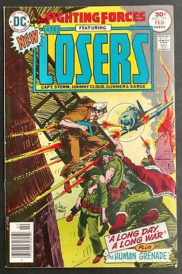 Our Fighting Forces #171 1977 Sharp F/vf White The Losers Kirby  Kubert Cover