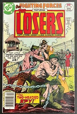 Our Fighting Forces #172 1977 Sharp F/vf The Losers  Kubert Cover