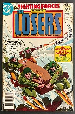 Our Fighting Forces #173 1977 Solid Fn Looks Better The Losers Kubert Cover